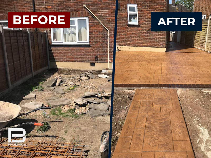 before-after-imprinted-concrete-slate-rustic-sandstone-