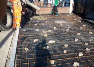 Step 4 - Placing Concrete