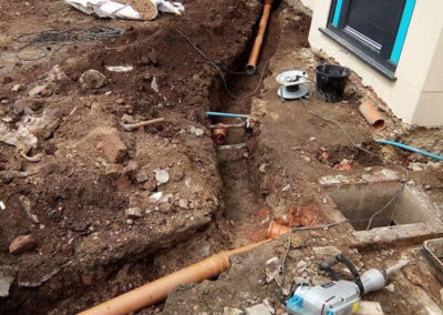 Step 2 - Drainage and Pipe Installation
